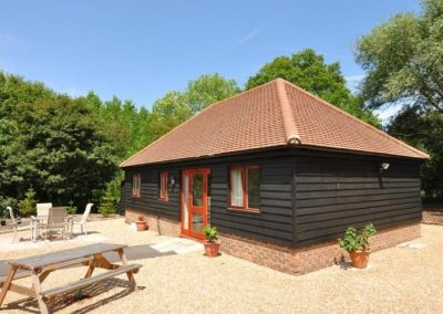 Cackle Hill Lakes Fishing Lodges, Biddenden, Kent.