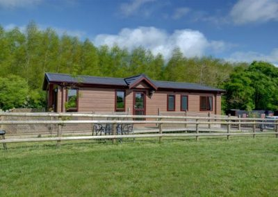 Cackle Hill Lakes Fishing Lodges, Biddenden, Kent.