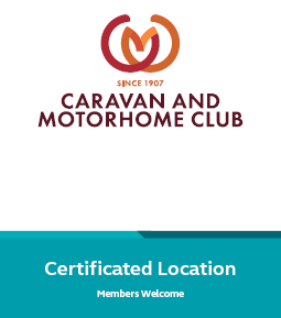 Caravan and Motorhome Club Certified Location